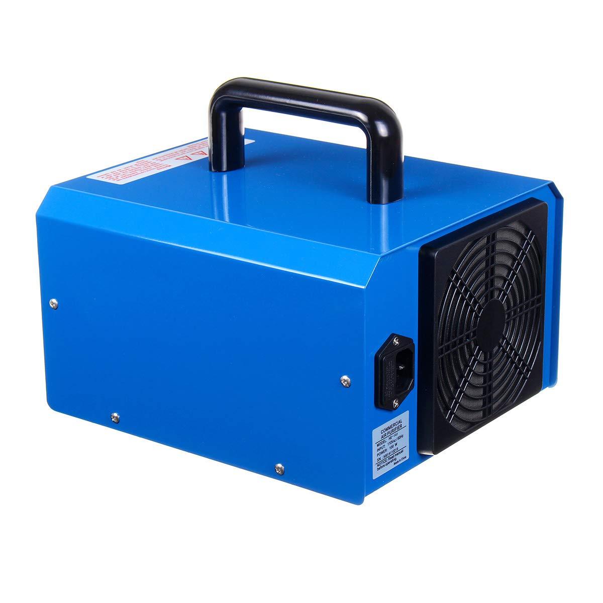 CPAZT/Purificador de Aire Esterilizador de Aire de ozono port/átil Ultra silencioso USB Mini Elegante S/úper eficiente de energ/ía con luz para el hogar del autom/óvil///Plata
