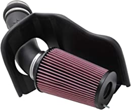 K&N Cold Air Intake Kit with Washable Air Filter:  1999-2003 Ford (Excursion, F250 Super Duty, F350 Super Duty, F450 Super Duty, F550 Super Duty) Black HDPE Tube with Red Oiled Filter, 57-2530