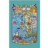 Kay Dee Adventure Reiseziele Poster Stil Tee Handtuch,