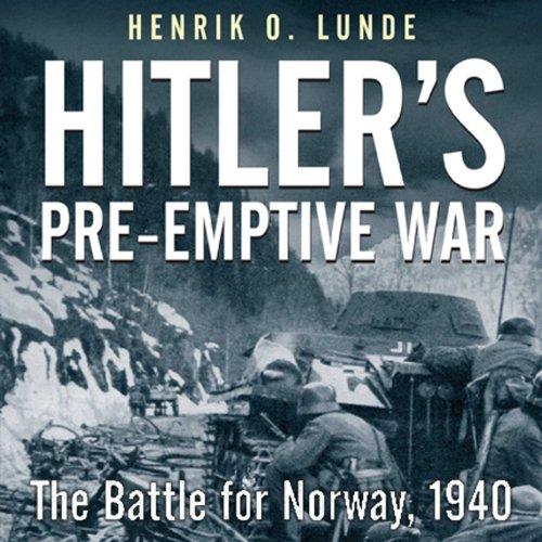 Hitler's Preemptive War cover art