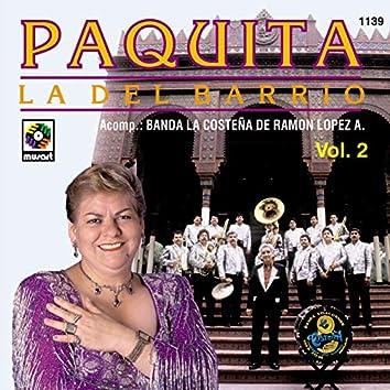 Paquita la del Barrio con Banda la Costeña, Vol. 2