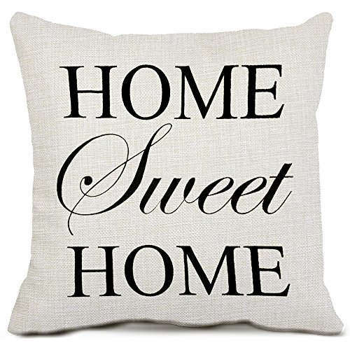 Top 10 home sweet home pillow cover 16×16 for 2020