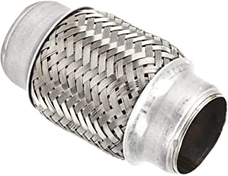 Duokon 38 x 102 mm 1,5 x 4 Zoll Edelstahl Auspuff flexibles Rohr, gute Luftdichtheit Flexi Joint Repair Tube Autozubehör