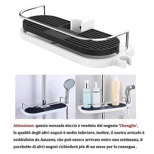 Accessori Per Box Doccia In Vetro.Accessori Per Box Doccia Amazon It