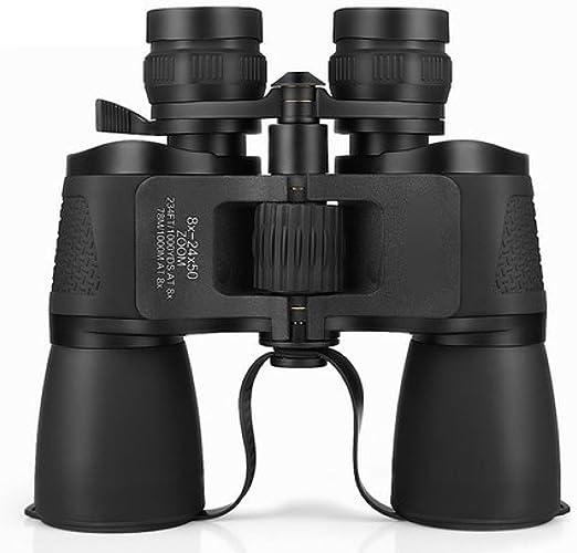GHCX Télescope Extérieure Binoculaire Vision Nocturne étanche Haute Définition Haute Puissance portable Mini Vision Nocturne Observation des Oiseaux(8-24x Zoom)