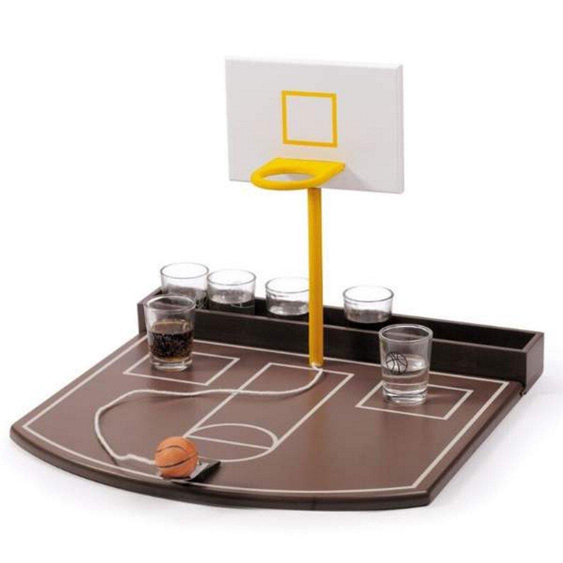 JUEGO BASKET 6 CHUPITOS 30X30X22,5 CM: Amazon.es: Juguetes y juegos