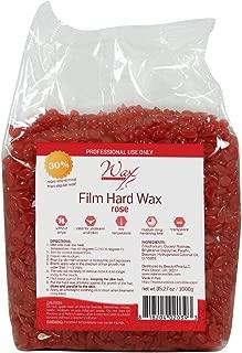 Wax Necessities Waxness Film Hard Wax Rose 2.2 Pound