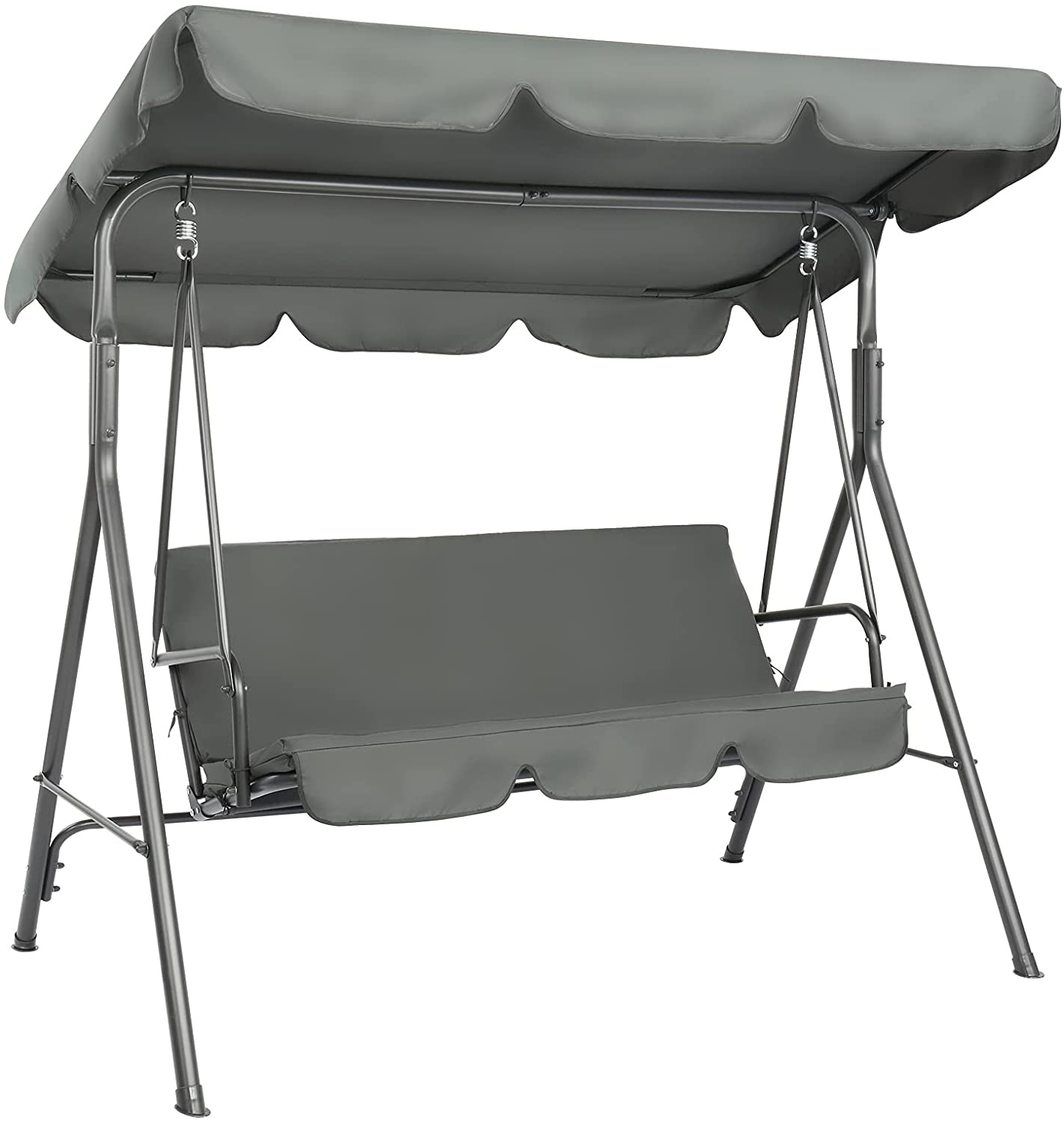 VINGLI Ranking TOP11 Upgraded 3 Person Outdoor with Swing Stand Adjusta Limited price Porch
