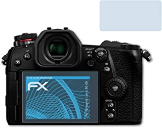 2x Panasonic Lumix DC-G100 Schutzfolie klar Displayschutzfolie Folie Display