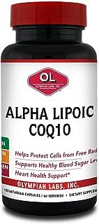 Olympian Labs Alpha Lipoic Coenyme Q 10 200 mg 60 Caps
