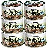 富永 いわし 煮つけ 缶詰 140g ×6個 国内加工 化学調味料不使用 DHA EPA 含有