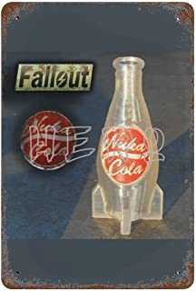 Fallo-ut Zap That Thirst Nuka Cola Atomic Bomb Drink I Art Tin Sign 30*40cm vintage home accessories displate tin signs re...