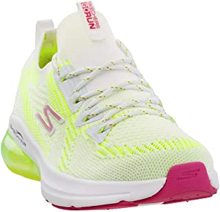 Skechers Women's GOrun Air Stratus Cross Training White/Lime 6.5