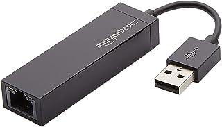 Amazon Basics - Adattatore di rete da USB 2.0 a Ethernet LAN 10/100