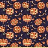 The Yard Lunarable Digitaldruck mehrfarbig, Textil, Orange