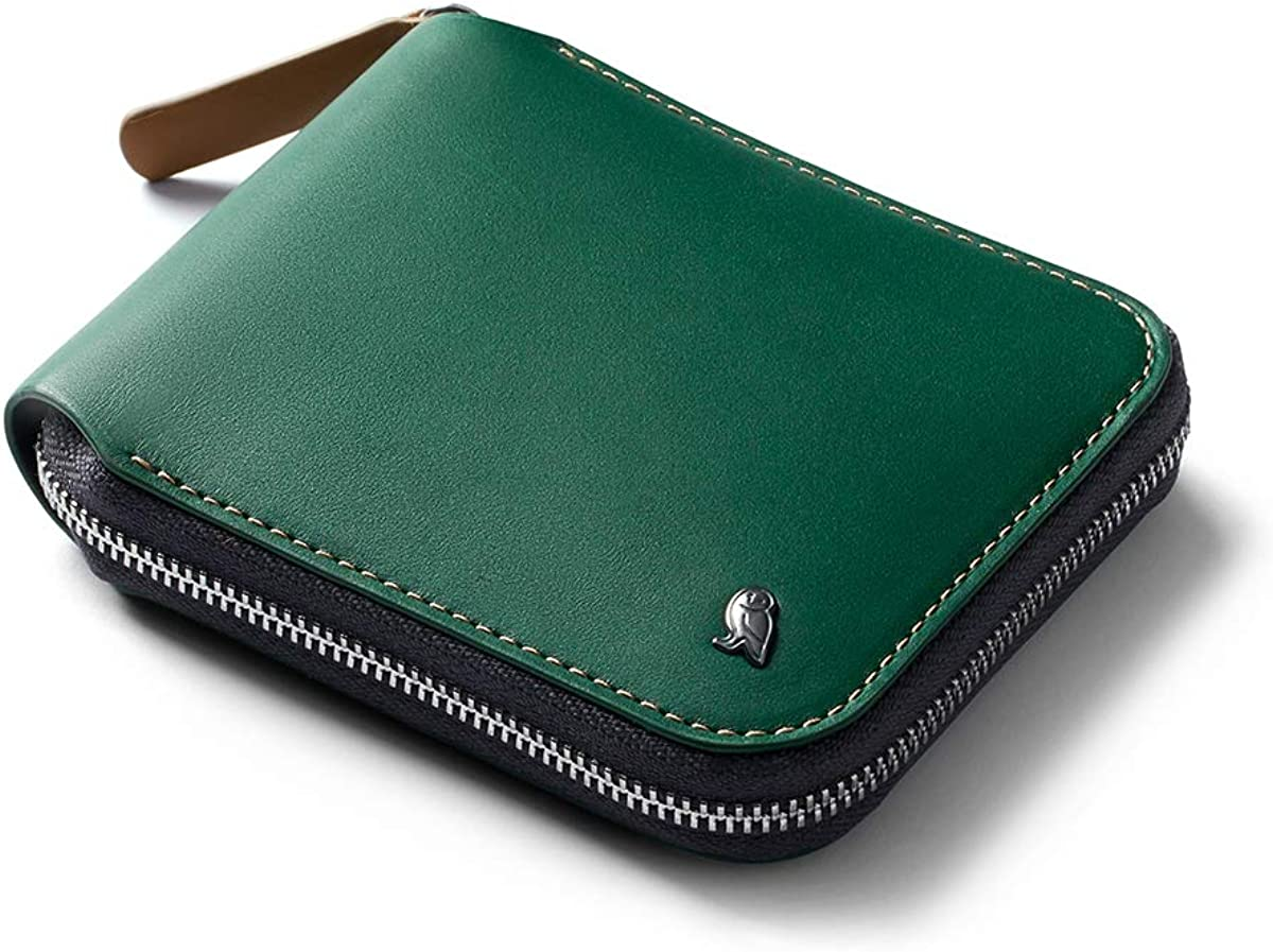 Bellroy Zip Wallet Leather RFID Cheap mail order specialty store Pouch Coin Surprise price Blocking