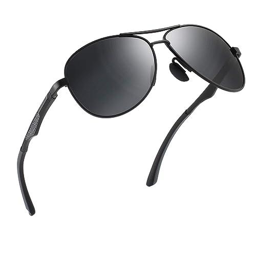 a541f149b82 CGID GA61 Premium Al-Mg Alloy Pilot Polarized Sunglasses UV400