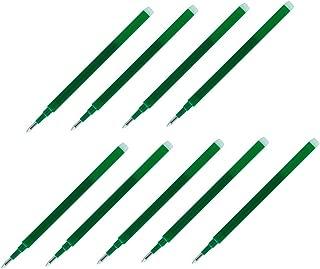 Pilot Gel Ink Refills for FriXion Erasable Gel Ink Pen, Fine Point 0.7mm, Green Ink, Pack of 9