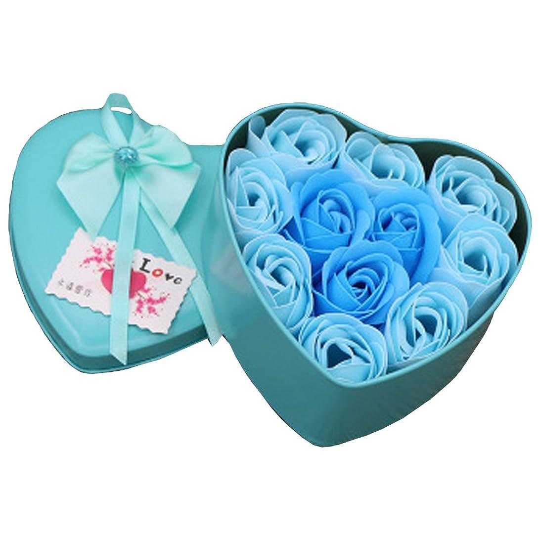 捨てるボーカル足音iCoole ソープフラワー 石鹸花 ハードフラワー形状 ギフトボックス入り 母の日 バレンタインデー お誕生日 ギフト