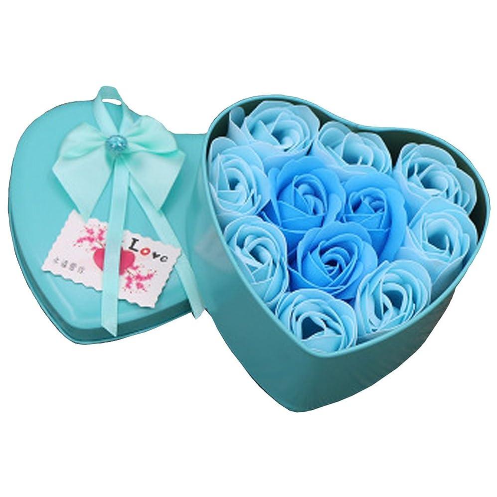 ミトン洗剤忠実にiCoole ソープフラワー 石鹸花 ハードフラワー形状 ギフトボックス入り 母の日 バレンタインデー お誕生日 ギフト
