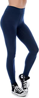 The Lovely Women & Plus Soft Cotton Active Stretch Ankle Length Lightweight Leggings
