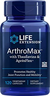 Life Extension Arthromax with Theaflavins and Apresflex, 120 Vegetarian Capsules