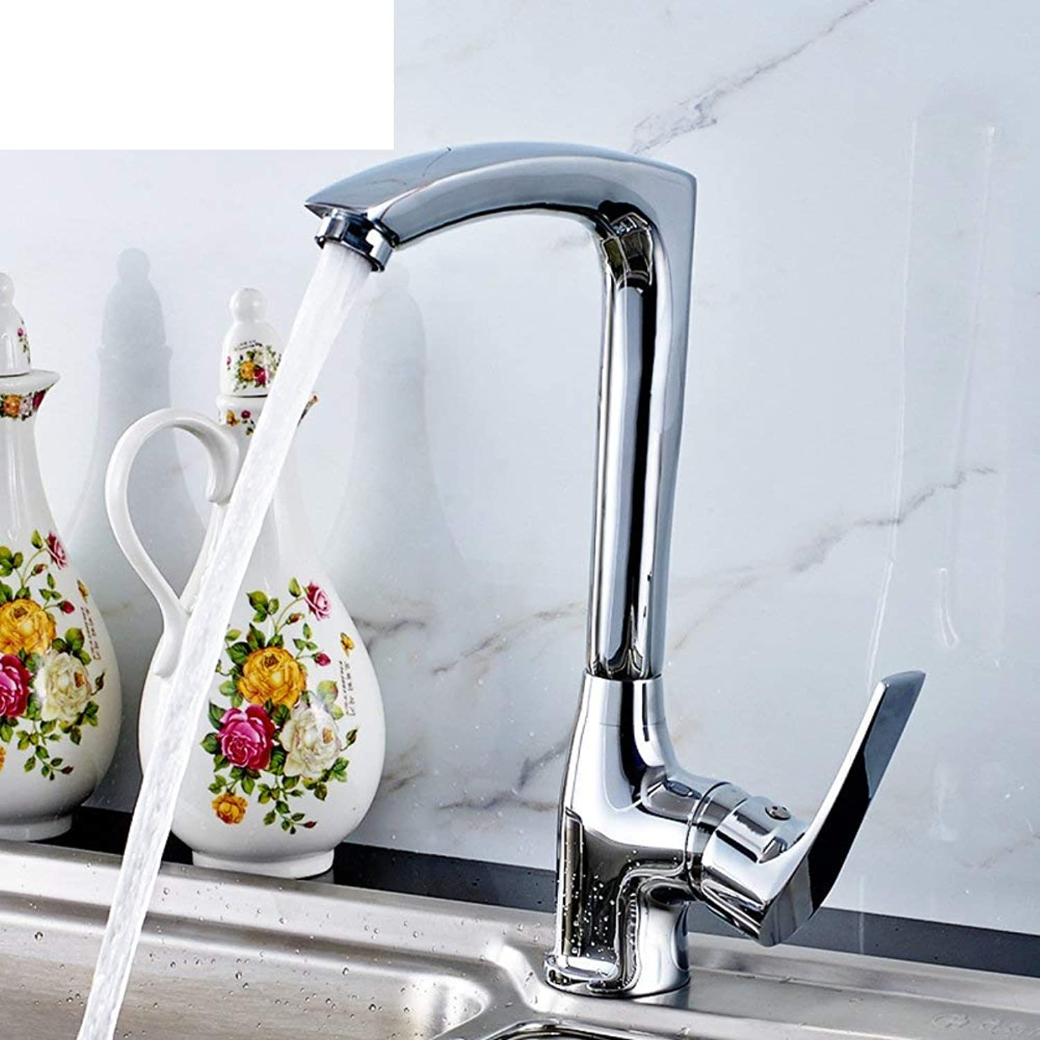 Oudan Vegetables basin kitchen faucet Hot and cold sink faucet Vegetables basin kitchen faucet (color   -, Size   -)