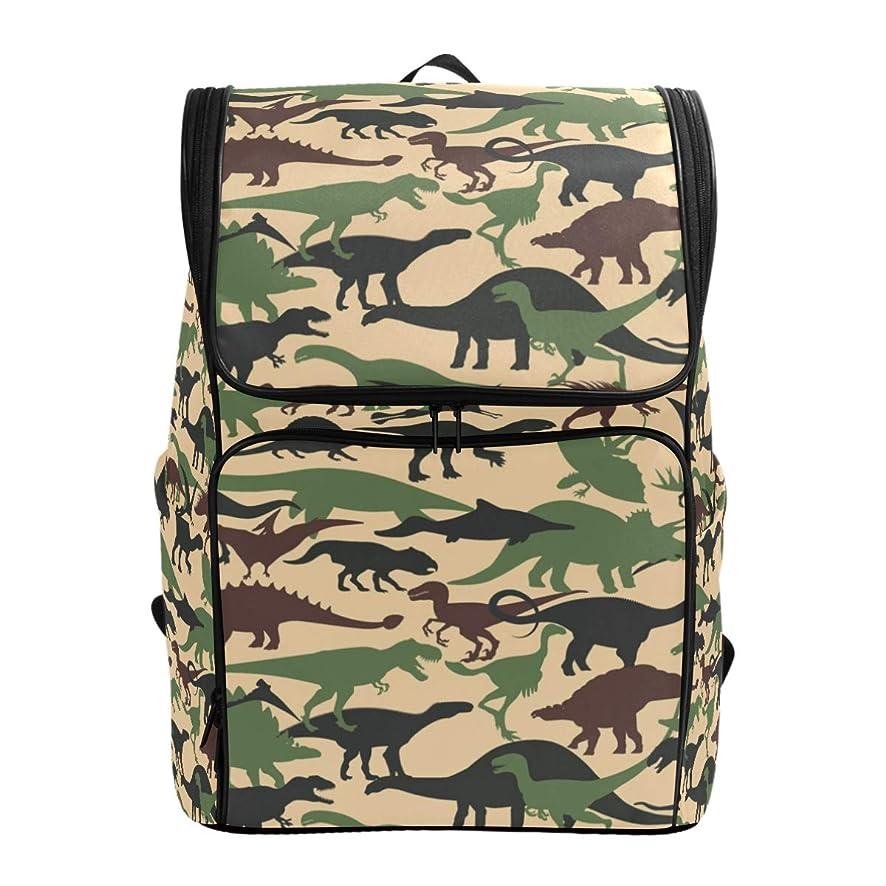被るエコー一般マキク(MAKIKU) リュックサック 大容量 軽量 恐竜柄 迷彩柄 リュック メンズ レディーズ 登山 通学 通勤 旅行 プレゼント対応