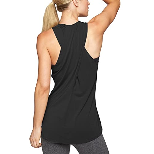 4433461fe07870 Mippo Womens Cross Back Yoga Shirt Activewear Workout Clothes Racerback  Tank Top