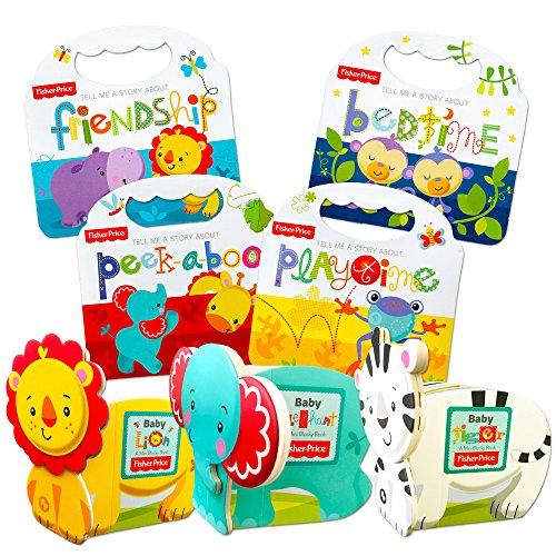 Fisher Price Baby Toddler Beginnings Board Books Super Set (Set of 8 Toddler Books)