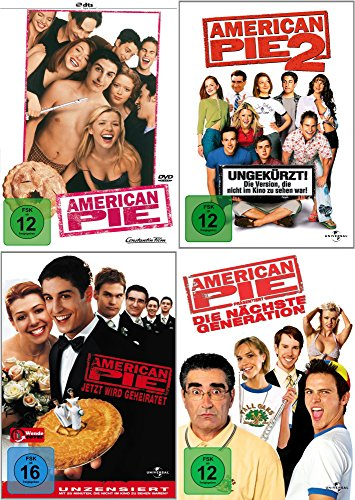 American Pie 1 - 4 Collection (4-DVD)