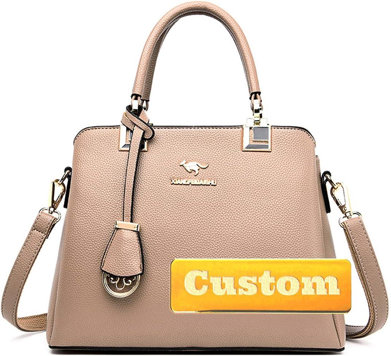 MAYOUCHEN Personalized Custom Name Tote Leather Gorgeous online shopping Vegan Shou Purse