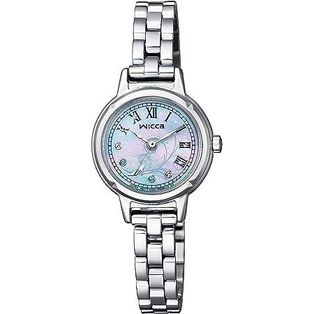 [シチズン] 腕時計 ウィッカ ソーラーテック Disneyコレクション ディズニーアニメーション「シンデレラ」限定ウォッチ 2,000本限定 限定ボックス付 KP3-619-97 レディース シルバー