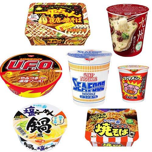 Nissin Japanisch YAKISOBA Ramen Udon Soba 8~11 Stück Set Cup Nudel Meeresfrüchte