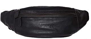 Laveri Black Waist Bag For Unisex