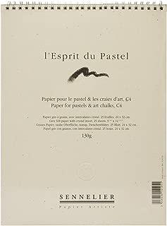 """Sennelier C4 25 Sheet Pastel Pad 9x13-1/2"""" 60 lb."""