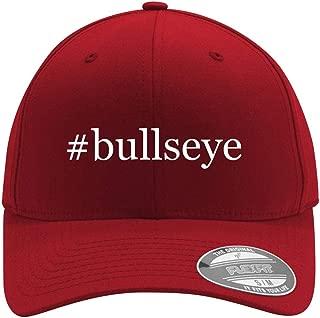 #bullseye - Adult Men's Hashtag Flexfit Baseball Hat Cap