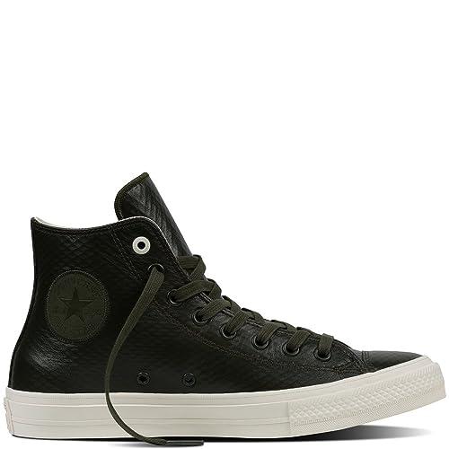 5d8ce62c2054 Converse Unisex Adults  Chuck Taylor All Star Ii Reflective Camo Hi-Top  Sneakers