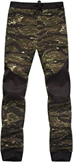 Men Spring Joggers Casual Camouflage Pants Sweatpants