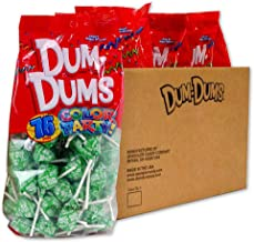 Dum Dums Bright Green Sour Apple 4-75 count bags