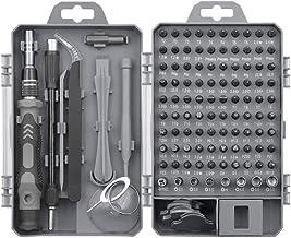 Nishore Chave de fenda 115pcs e conjunto de bits Ferramenta de reparo manual para dispositivos eletrônicos de telefone