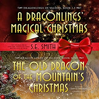 The Old Dragon of the Mountain's Christmas audiobook cover art