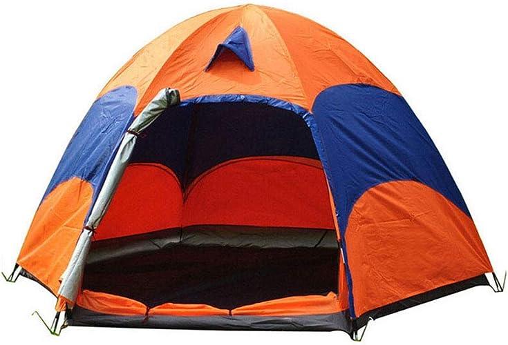 MR.YATODR Tente De Camping en Plein Air, Tente Double Hexagonale Surdimensionnée, Pouvant Accueillir Une Tente De Camping pour 5 à 8 Personnes