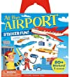 At the Airport Reusable Sticker Book | Stocking Filler Ideas for Globetrotters | OurGlobetrotters.Net
