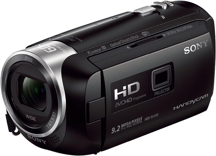Sony HDR-PJ410 - Videocámara (pantalla de 2.7 zoom óptico 30x WiFi NFC) negro