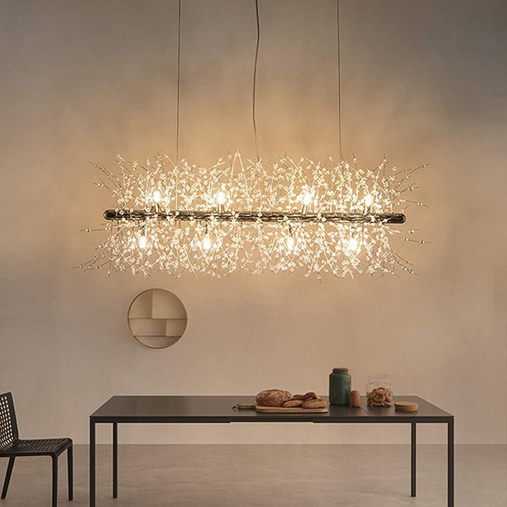 Kuandar chandelier gocce lampadario di cristallo moderno RYYABC204