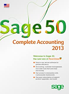 Sage 50 Complete Accounting 2013 (Sage Peachtree) US Edition [Old Version]