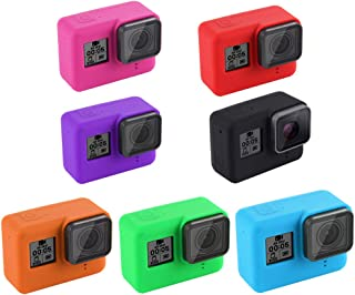 Redcolourful for GoPro Hero 7 Black Silicone Camera Case Protective Cover Green
