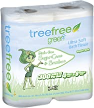 Green2 100% Tree Free 300-Sheet 2-Ply Bathroom Tissue, 96 Count