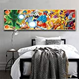 5D Diy Diamond Painting Kit Naruto Full Drill Rhinestone Crystal Embroidery Cross Stitch For Adults Kids Arts Craft Canvas Pictures By Number Set For Living Room Bedroom Wall Decor C8743 50X100Cm